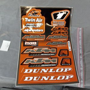 KTM stickerset